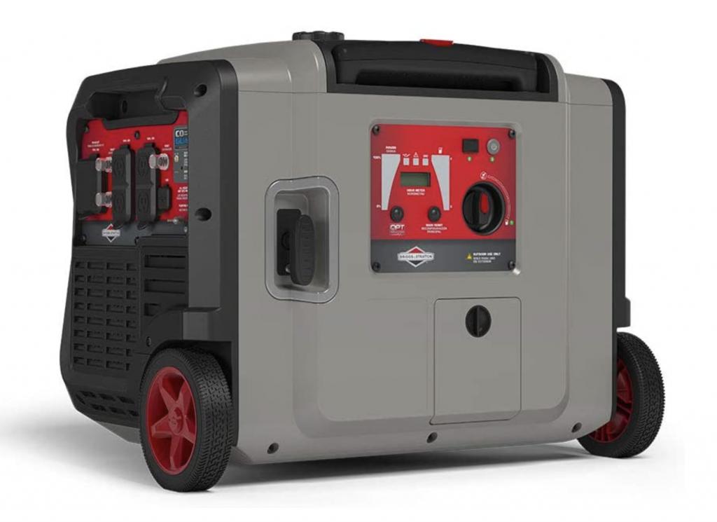 Briggs & Stratton 30795 P4500 PowerSmart Series, Electric Start, Powered Engine Inverter Generator,